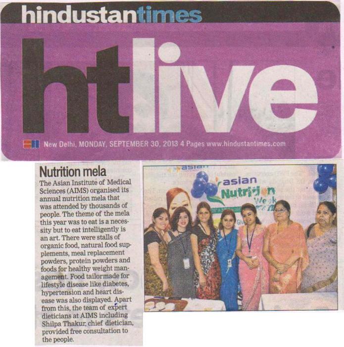 Nutrition Mela at AIMS