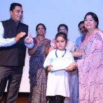 Giving Prize to Winner