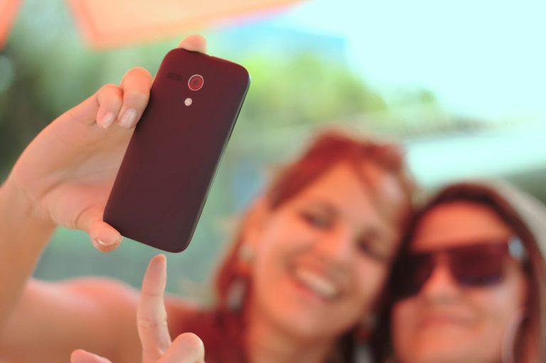 Capturing Selfie