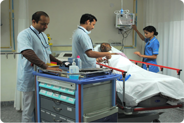 advanced ICU facility at asian institute of medical sciences