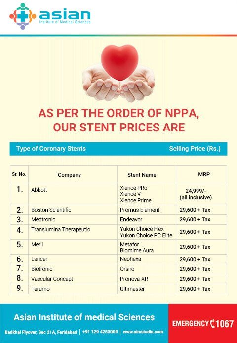 Stent Prices