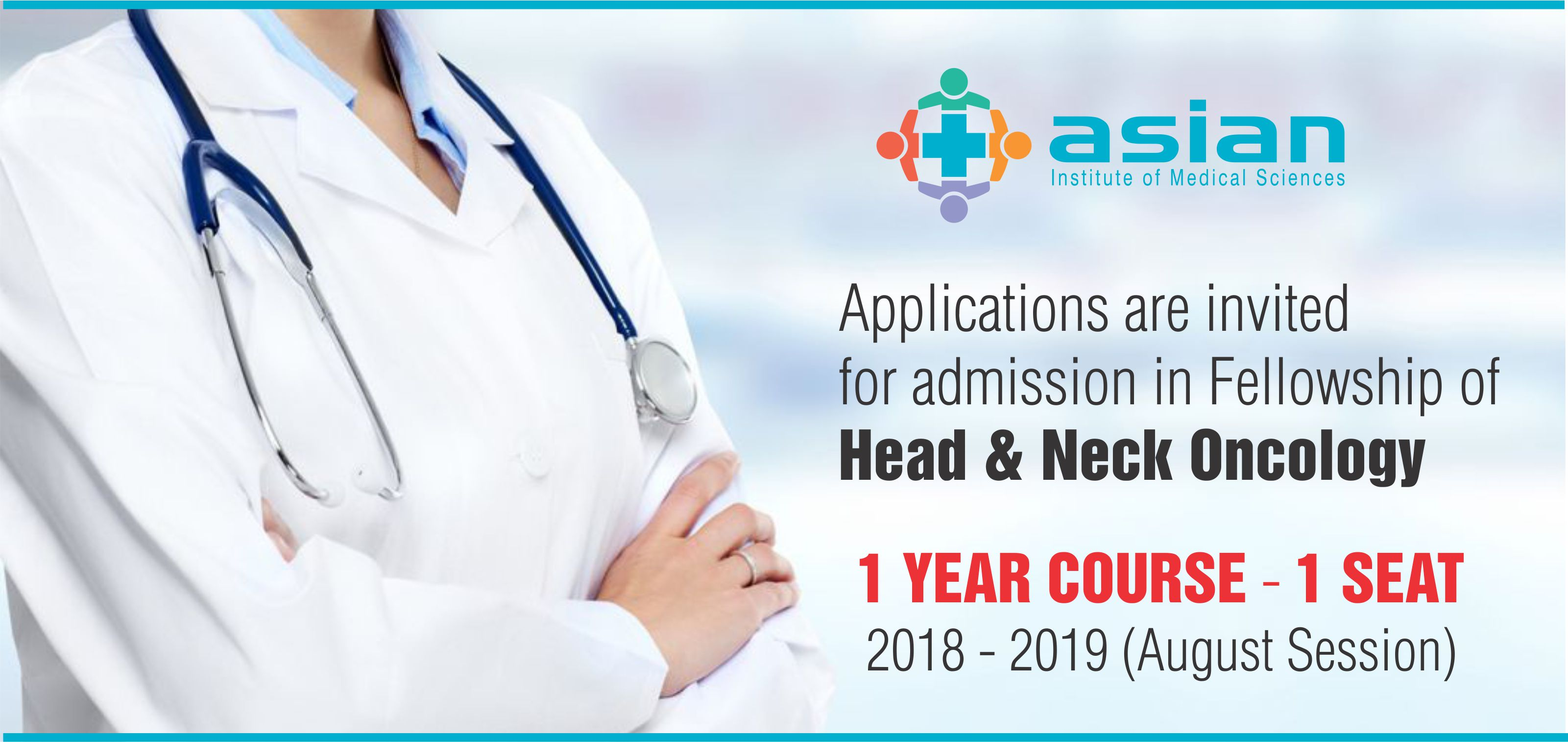 Fellowship in Head & Neck Oncology - Asian Hospital Faridabad