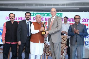 Dr. Ramesh & Dr. Ankur Awarded by Chief Minister