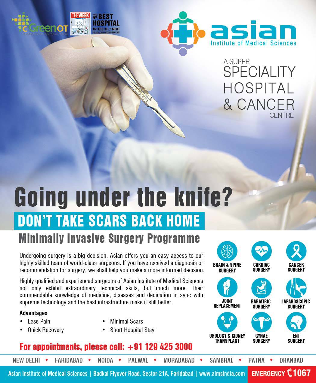 Asian Surgery OPD Campaign
