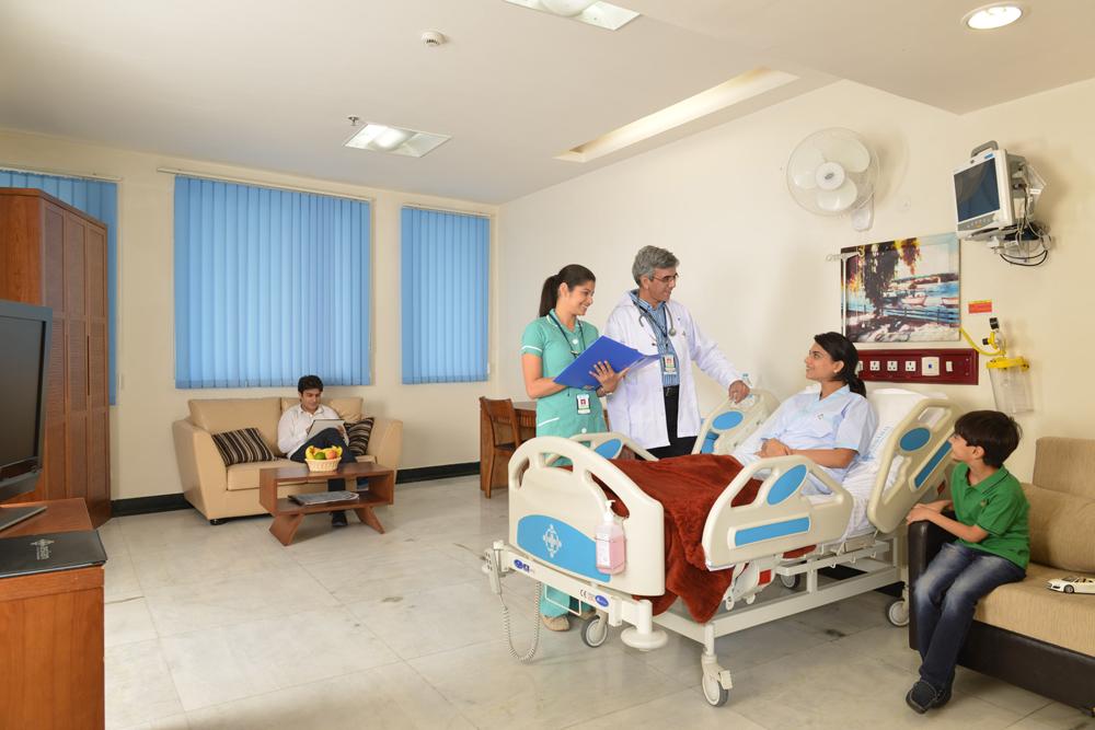 VIP Patient Room
