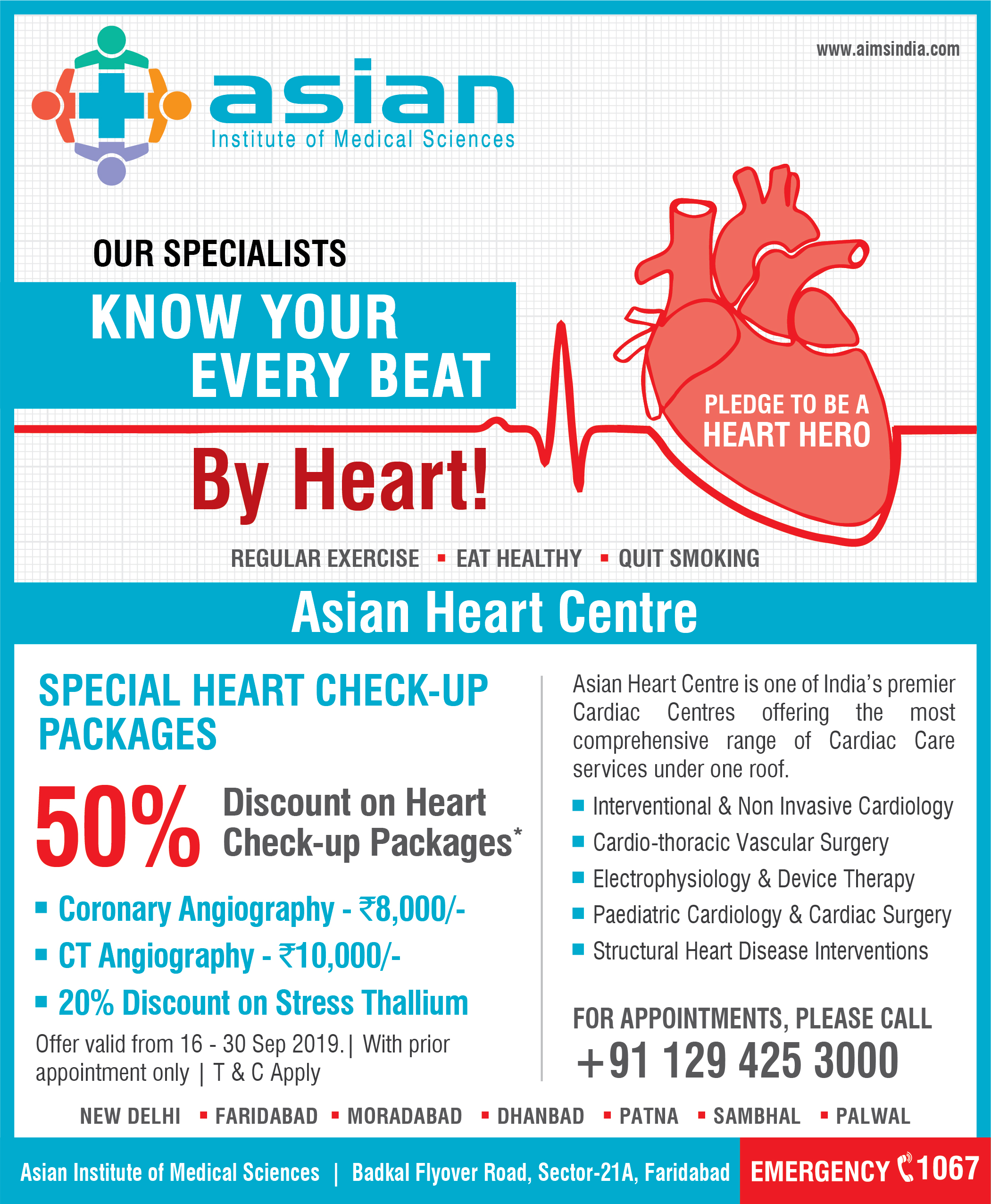 Asian Heart Campaign