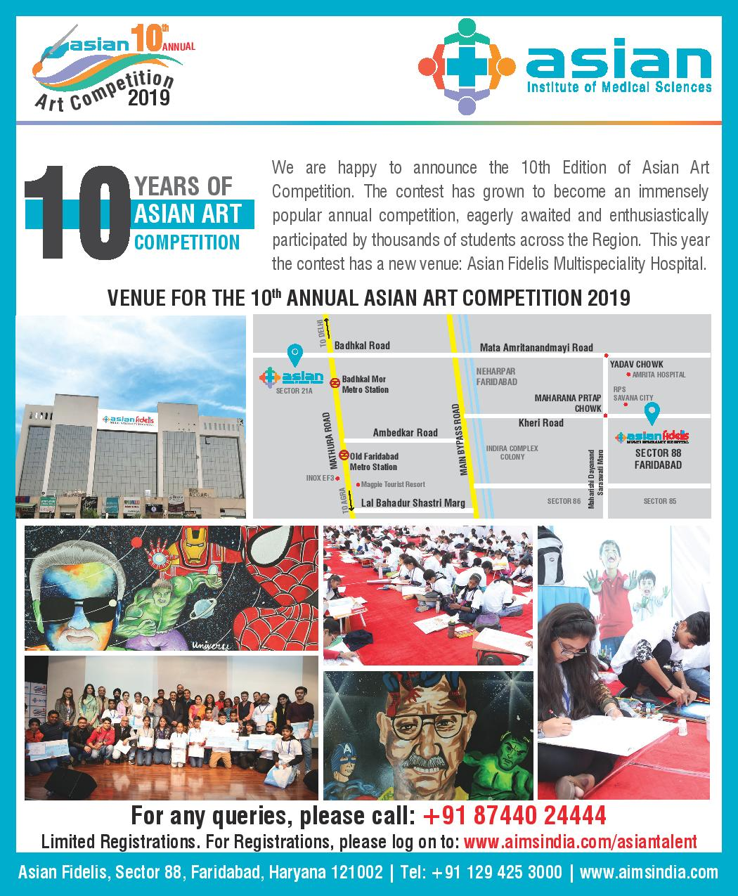 10 Years of Asian Art Competition