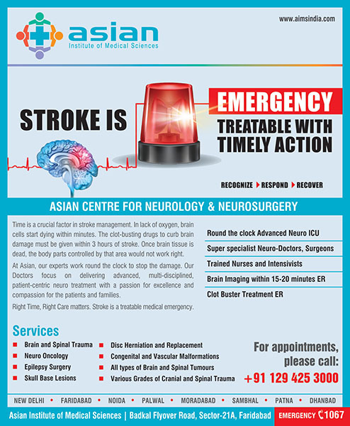 Stroke is Treatable with timely action