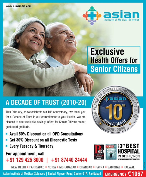Exclusive Health Offers for Senior Citizens