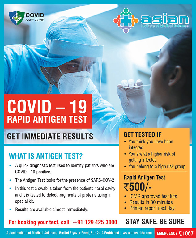 Covid-19 Rapid Antigen Test