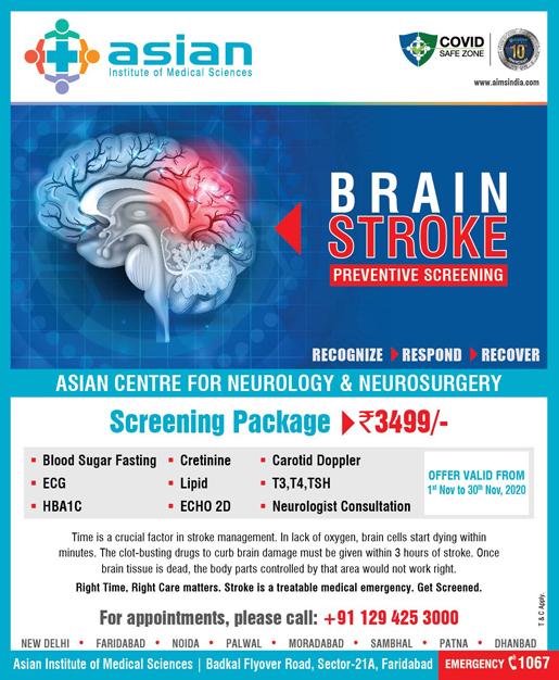Brain Stroke Preventive Screening
