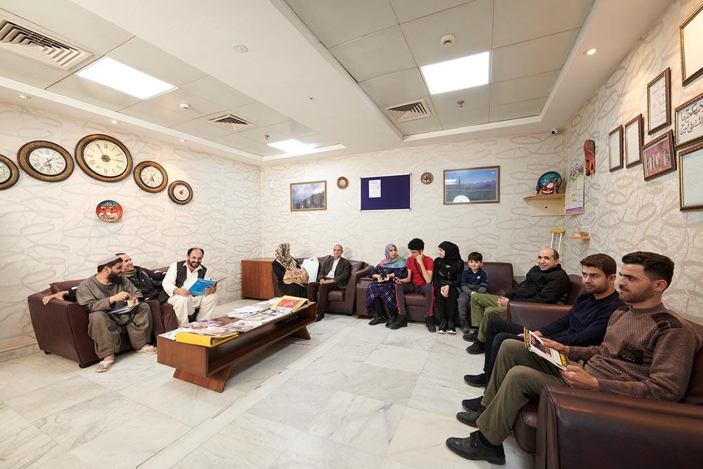 International Patient Waiting Area