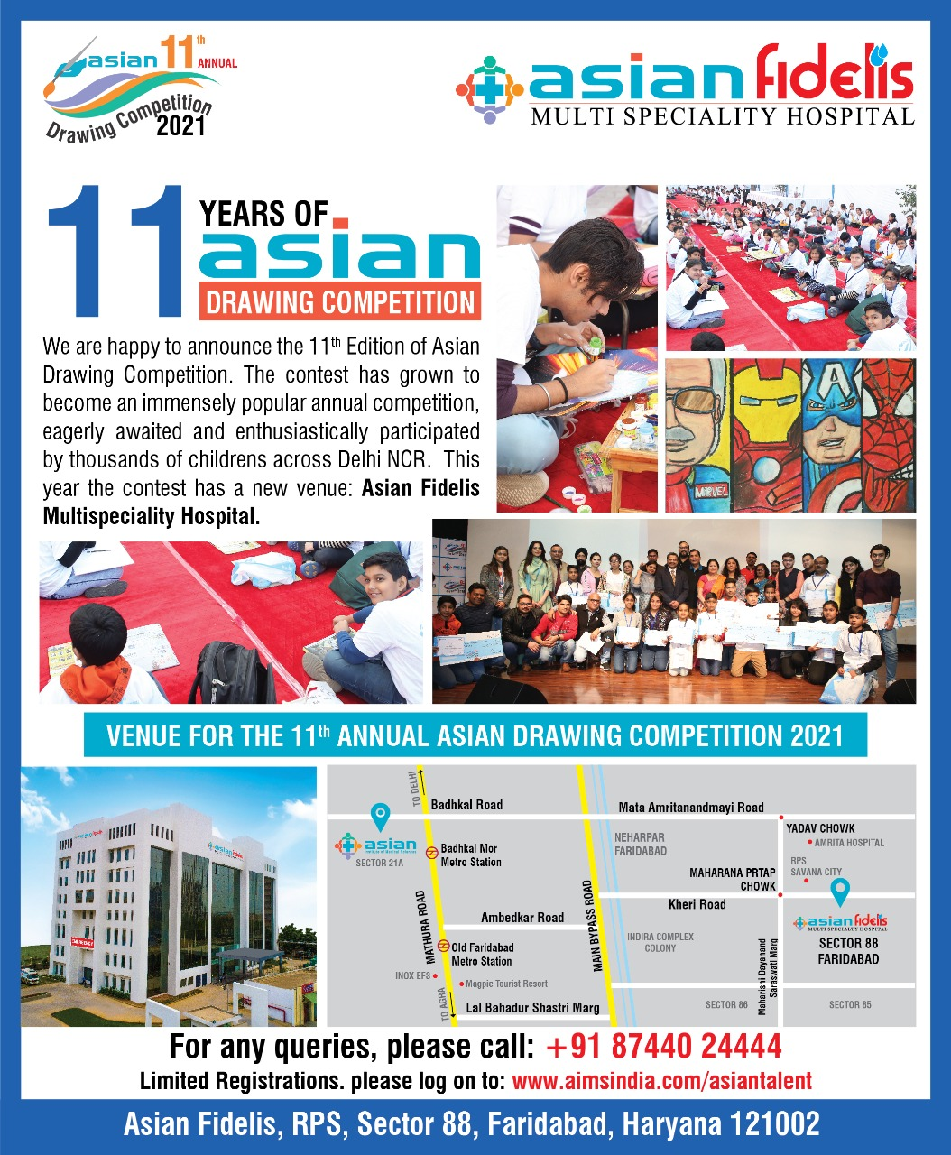 11 Years of Asian Drawing Competition