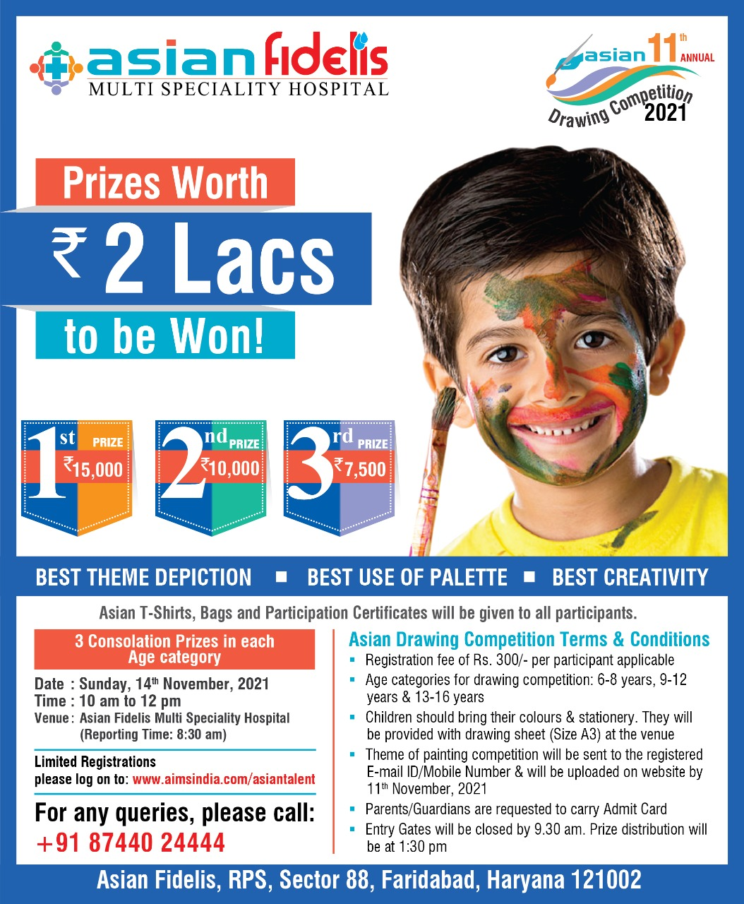 Prize Worth 2 Lacs to be Won